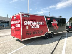 Snowmobile Tours Trailer